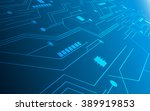abstract technology future... | Shutterstock .eps vector #389919853