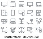 technology and computers icon... | Shutterstock .eps vector #389921350