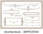 advertisements  flyer  web ... | Shutterstock .eps vector #389925544
