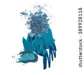 various cosmetic blue fashion...   Shutterstock . vector #389928118