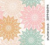 Seamless Pattern With Mandala....