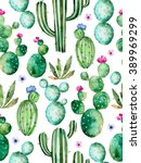 seamless pattern with high... | Shutterstock . vector #389969299