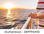 Sailing Away Into The Sunset.