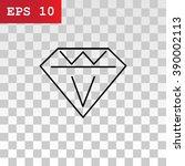 diamond icon vector. diamond...