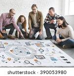 information technology... | Shutterstock . vector #390053980