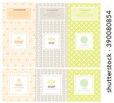vector set of design elements... | Shutterstock .eps vector #390080854