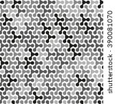abstract seamless white  black  ... | Shutterstock .eps vector #390081070