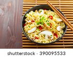 Instant Noodles With Shiitake...