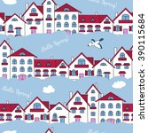 gentle seamless pattern on the