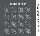 modern line symbols of medicine ...   Shutterstock .eps vector #390127714