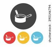 pot icon | Shutterstock .eps vector #390146794