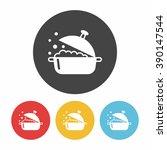 pot icon | Shutterstock .eps vector #390147544