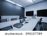 business meeting room or board... | Shutterstock . vector #390157789