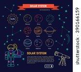 the universe kids  solar system ... | Shutterstock .eps vector #390166159