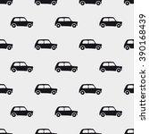 seamless pattern car art ... | Shutterstock .eps vector #390168439