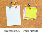 Abstract Paper Note Pin On Cor...