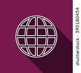globe. icon. vector design | Shutterstock .eps vector #390180454