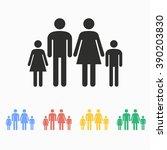 family  vector icon.... | Shutterstock .eps vector #390203830