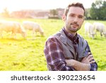 view of a young attractive...   Shutterstock . vector #390223654