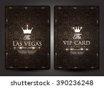 casino card design collection... | Shutterstock .eps vector #390236248