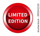 limited edition button isolated   Shutterstock . vector #390241210