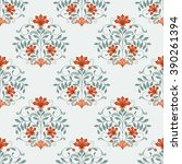 seamless oriental pattern. | Shutterstock .eps vector #390261394