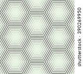 vector seamless pattern.... | Shutterstock .eps vector #390269950