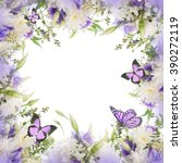 Stock photo bridal bouquet from white and pink flowers butterfly 390272119
