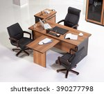 office furniture on a white... | Shutterstock . vector #390277798