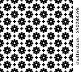 Seamless damask pattern. Ornate vintage background - stock photo