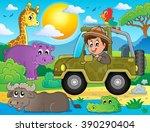 safari theme image 2   eps10... | Shutterstock .eps vector #390290404