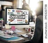 Small photo of Advertising Campaign Promotion Branding Concept