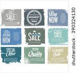 premium quality retro vintage... | Shutterstock .eps vector #390324130