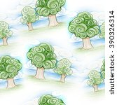 pencil drawing seamless...   Shutterstock . vector #390326314