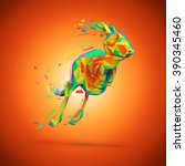 kangaroo | Shutterstock . vector #390345460