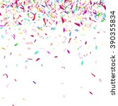 abstract colorful confetti... | Shutterstock .eps vector #390355834