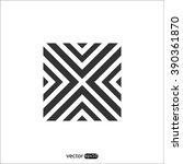 vector square logo icon | Shutterstock .eps vector #390361870