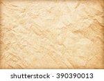grunge vintage old paper... | Shutterstock . vector #390390013