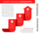 infographic elements. business... | Shutterstock .eps vector #390409618