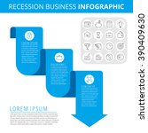 infographic elements. business... | Shutterstock .eps vector #390409630