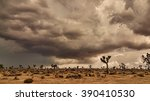A Desert Rain Storm Over Joshu...
