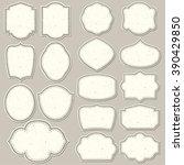 labels shapes for all design....   Shutterstock .eps vector #390429850