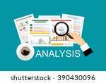 concepts for business planning... | Shutterstock .eps vector #390430096