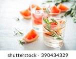 summer refreshing drink and... | Shutterstock . vector #390434329