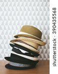 hats collection | Shutterstock . vector #390435568