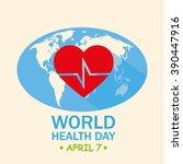 world health day | Shutterstock .eps vector #390447916