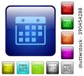 set of hanging calendar color...