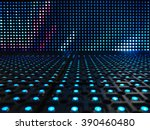 led light digital pattern... | Shutterstock . vector #390460480