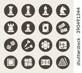 games icons | Shutterstock .eps vector #390491344