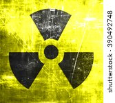 nuclear danger background | Shutterstock . vector #390492748